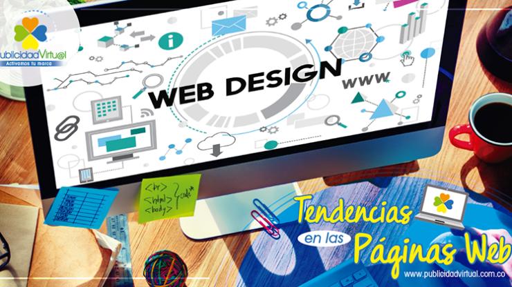 Diseño web: Tendencias de los sitios web