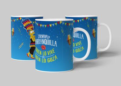 Mug Carnaval Marge Simpsons