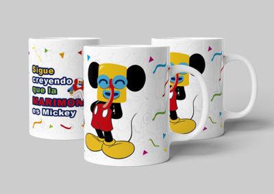 Mug Carnaval Mickey Marimonda
