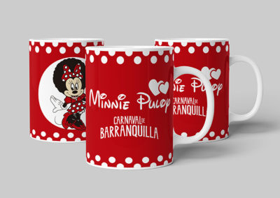 Mug Carnaval Minnie Puloy
