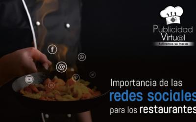 Importancia de las redes sociales para los restaurantes